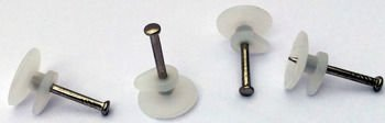 Haczyki do obrazów zestaw 100 sztuk - Z1 - gwóździki z haczykiem plastikowym