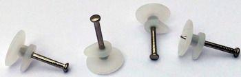 Zestaw 100 sztuk - Z1 - gwóździków z haczykiem plastikowym