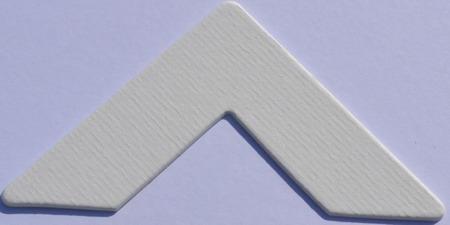 975 Antique White Passe-Partout (paspartu) karton dekoracyjny Slater Harrison
