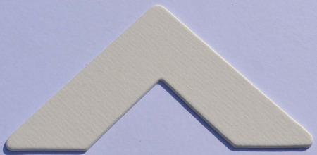 981 Off White Passe-Partout (paspartu) karton dekoracyjny Slater Harrison