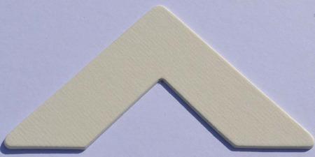 987 White Ingres Passe-Partout (paspartu) karton dekoracyjny Slater Harrison