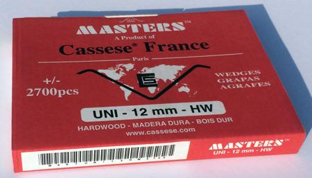 S21XS - Klamry UNI 12mm  do twardego drewna firmy Cassese