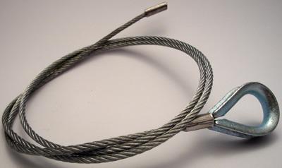 Z1521 - Linka stalowa do łączarek Cassese