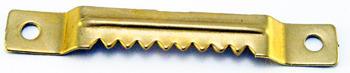 Zestaw 1000 sztuk - K17 Zawieszka ząbkowana na wkręty